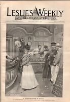 1899 Leslie's Illustrated March 23 - Venezuela; Hong Kong; Philippines; Colorado