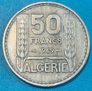 1949 algeria 50 Francs Coin