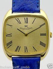 IWC 18ct Gelbgold Herren Armbanduhr Handaufzug aus den 1970/1980er Jahren