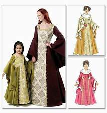 Schnittmuster kleid kind mittelalter