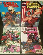 CABLE & DEADPOOL LOT #17 18 19 20 VF/NM Straight 4 issue Run 2005