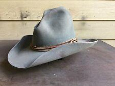 Gus Resistol Texas Rancher Vintage Old West Cowboy Hat 7 1/8 SASS 57Cm Western