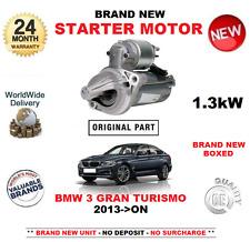 Para BMW 3 Gran Turismo 335 Xd Drive Motor de Arranque 2013-on > Nuevo 1.3kW F34
