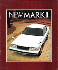 Toyota Mark II 1983-84 Japanese Market Sales JDM Brochure Sedan Hardtop Wagon