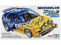 TAMIYA 1/24 Michelin Pilot Ford Escort RS Cosworth Plastic Model Kit NEW