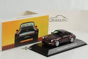 Porsche 964 Carrera 4 30 Jahre 911 amethyst metallic 1:43 Spark Museum