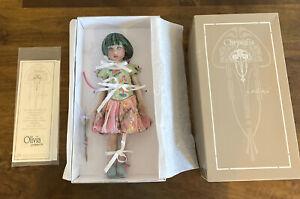 """RARE Helen Kish 12"""" Olivia Primavera Chrysalis Doll Hish & Company"""