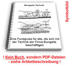 Bungartz Bodenfräse Fahrzeuge - Technik Patente Patentschriften