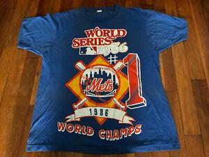 Mets 1986 World Champion T- Shirt