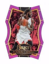 DeMarre Carroll 2016-17 Panini Select, Purple Prizm, Die-Cut, 94/99 !!