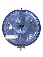 Fernscheinwerfer  RUND LED RING blau CHROM  Halogenscheinwerfer  H3 12V  FRONT