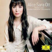 ALICE SARA OTT - 12 ETUDES D'EXECUTION TRANSCENDENTE  CD  12 TRACKS LISZT  NEW+