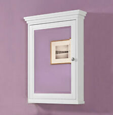 Fairmont Shaker 1512-MC24 Americana 24″ Medicine Cabinet Polar White
