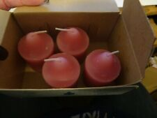 New ListingPartylite Votive Candles Rose V0624 Box of 4