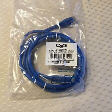 C2G CAT6 Ethernet Cable; 5'; Blue