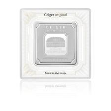 Lingot Argent 999/1000 Carré GEIGER 100 grammes