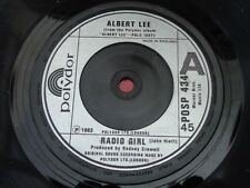 ALBERT LEE : RADIO GIRL - YOUR BOYS : POLYDOR : POSP 434 : 1982