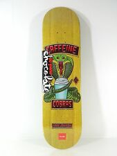 Chocolate M Johnson Rider Patch 8.125 x 31.3 Skateboard Deck w/ Free Grip Tape