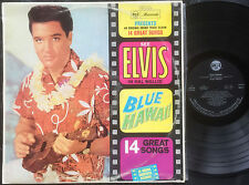 ELVIS PRESLEY - BLUE HAWAII Very rare 1964 Australian MONO LP Release!