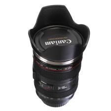 Caniam Camera Lens + Hood Thermos As Canon EF 24-105mm f/4.0L Coffee Tea Mug Cup