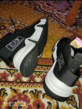 EA7 emporio armani mens shoes white and black