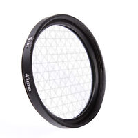 43mm Four 6 Point 6PT Cross Star Effect Lens Filter For Canon Nikon DSLR Camera