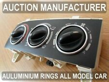 Renault Megane I 1996-2002  Chrome Heater Rings Polished Alloy Trim Surrounds x3
