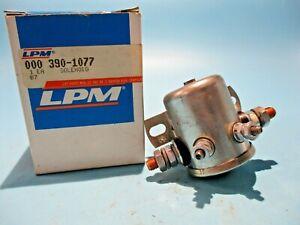 NEW LPM 000390-1077 SOLENOID