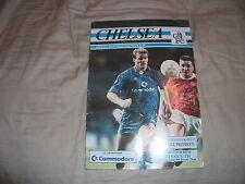 Chelsea Teams C-E Football League Cup Fixture Programmes