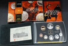 1998 PROOF DOUBLE DOLLAR SET - CANADIAN 8-COIN SET - CASE, BOX & CERTIFICATE