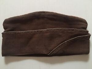 Original WWII WW2 US  Officer's Garrison Uniform Cap Hat