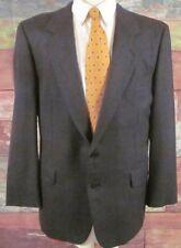 Gieves & Hawkes Savile Row Glen Plaid Size 43 Reg Mens Sports Coat Jacket Wool