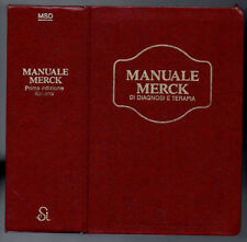MANUALE MERCK di diagnosi e terapia prima ed. italiana 1984