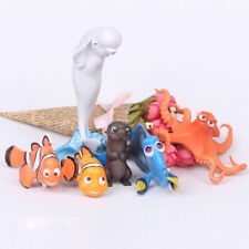 Finding Nemo Doll Gift Movie Cartoon Cake Topper Kids Toy Action Figure 6 Pcs