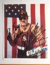 Sgt. Slaughter Signed 8x10 Photo Wrestling Autograph WWE WWF G.I. Joe VF+ 8.5