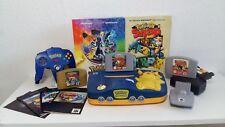 "Nintendo 64 Pikachu Edition "" Pokemon Bundle "" mit Lösungsbücher"