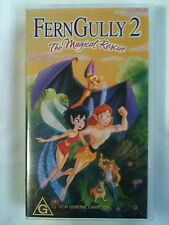 Ferngully 2 The Magical Rescue & VHS Video
