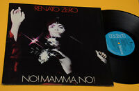 RENATO ZERO LP NO MAMMA NO COPERTINA APRIBILE 1978 EX ! TOP AUDIOFILI