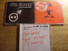Die Ärzte [3 CD Maxi] Schwein namens Männer + Wie es geht + Schrei nach Liebe