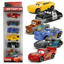 6X Disney Pixar Cars 3 Lightning McQueen Racer Car Kids Toy Collection Set Boxed