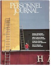PERSONNEL JOURNAL (1986) - RARE HUMAN RESOURCES MAGAZINE, HAS EARLY AIDS ARTICLE