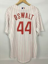 Men's Roy Oswalt PHILLIES #44 Jersey -  Authentic MAJESTIC Stitched Size 54 NWT