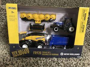 2021 Ertl 1/64 New Holland FR920 Forage Harvester Set Tractor T8.380