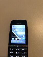 Nokia  Asha 300 - Schwarz (Ohne Simlock) Smartphone
