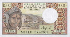 Djibouti 1.000 Francs (1991) Pick 37e UNC