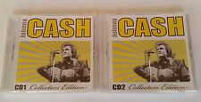 Johnny CASH ~ 2CD Collectors Edition ~ by Johnny Cash (CD) Gift NEW
