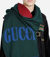 Gucci Men's Long Wool Scarf Style 5255594G7444473
