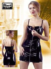 Lack-minikleid LACK Kleid L schwarz