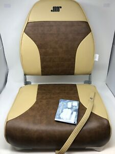 Wise Standard High Back Boat Seat Sand / Brown (8WD588PLS-662)