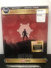 Ant-Man Blu-Ray Digital HD Steelbook Best Buy Ferguson Exclusive Marvel MCU New